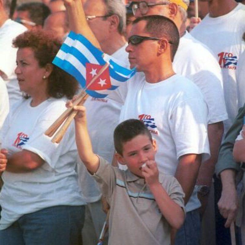 6. Actualmente Elián González es el líder juvenil de los Comités de Defensa de la Revolución (CDR). Foto:Getty Images