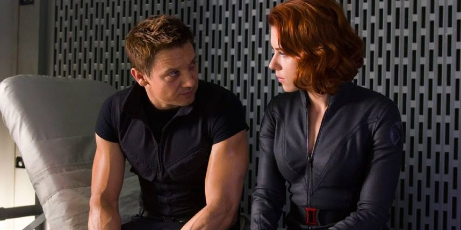 """Hawkeye"" y ""Black Widow"" Foto: Facebook.com/avengers"