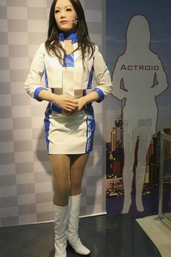 En Japón y Korea del Sur es donde más se está implementando el uso de estos robot en la vida diaria. Por ejemplo, como edecanes o recepcioniostas Foto:Getty Images