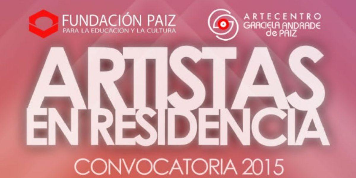Fundación Paiz abre la convocatoria al programa Artistas en residencia