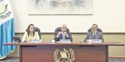 Presidente decidirá la continuidad de la CICIG