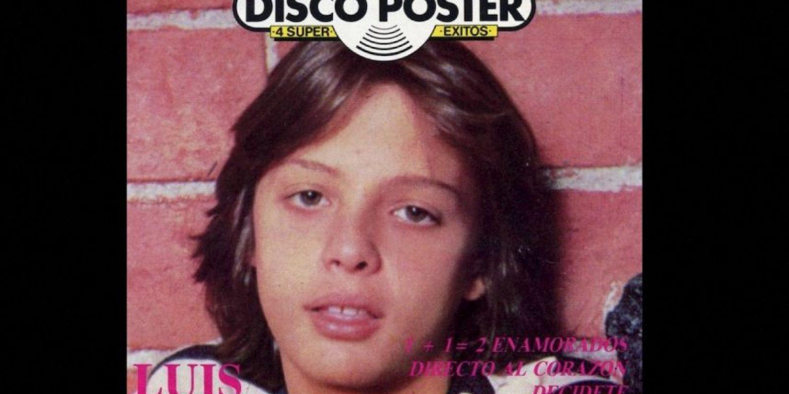 Luis Miguel en los años 80 comenzó como ídolo adolescente. En 1984 participó en el cine. Foto:Coveralia