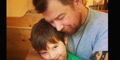 Él se llama Sammy Griner, su mamá es Laney. Su padre, Justin, necesita un riñón. Foto:Facebook/Laney Griner