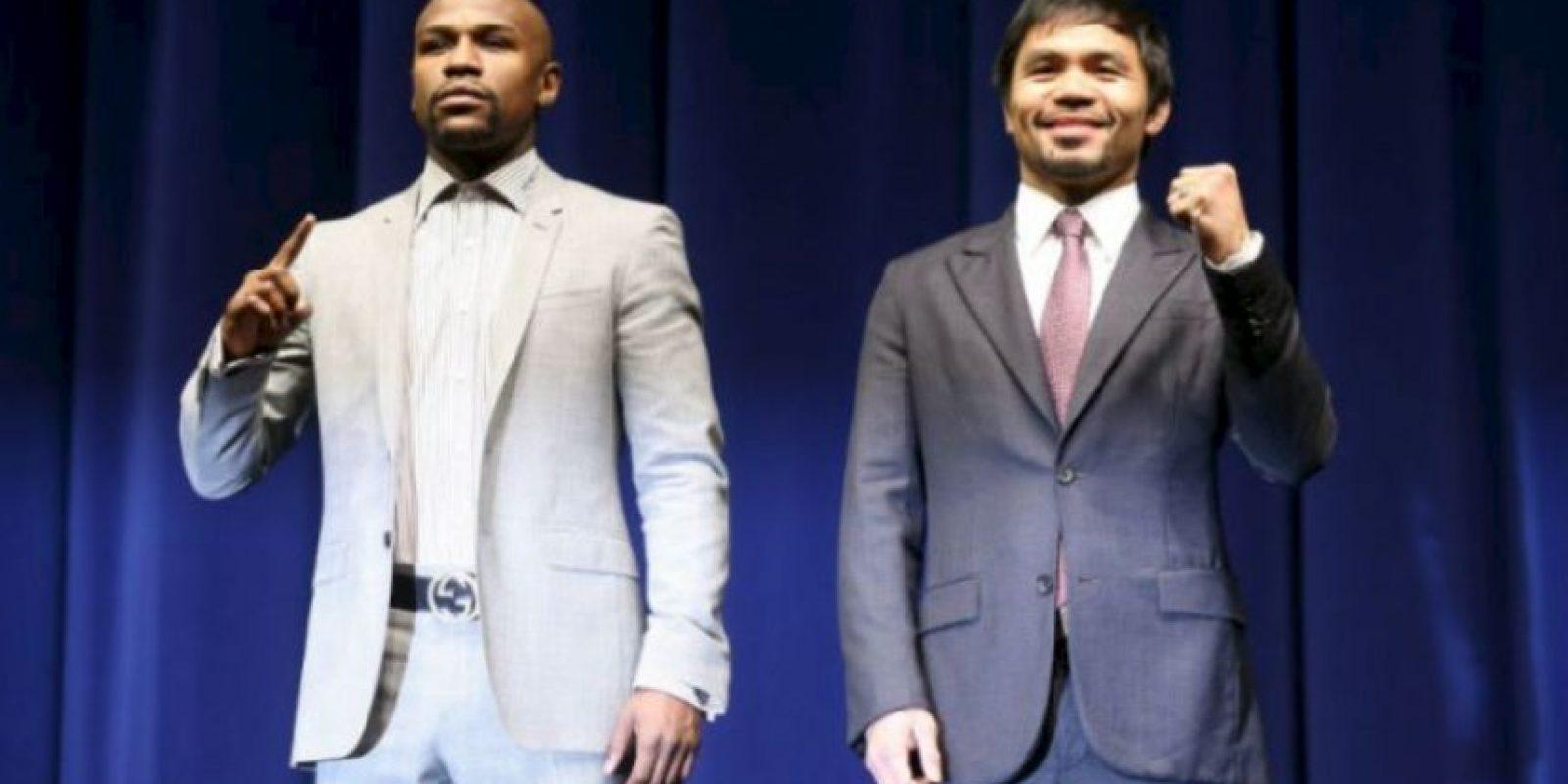 Es un hecho nunca antes visto en la historia del boxeo en Nevada Foto:Getty Images