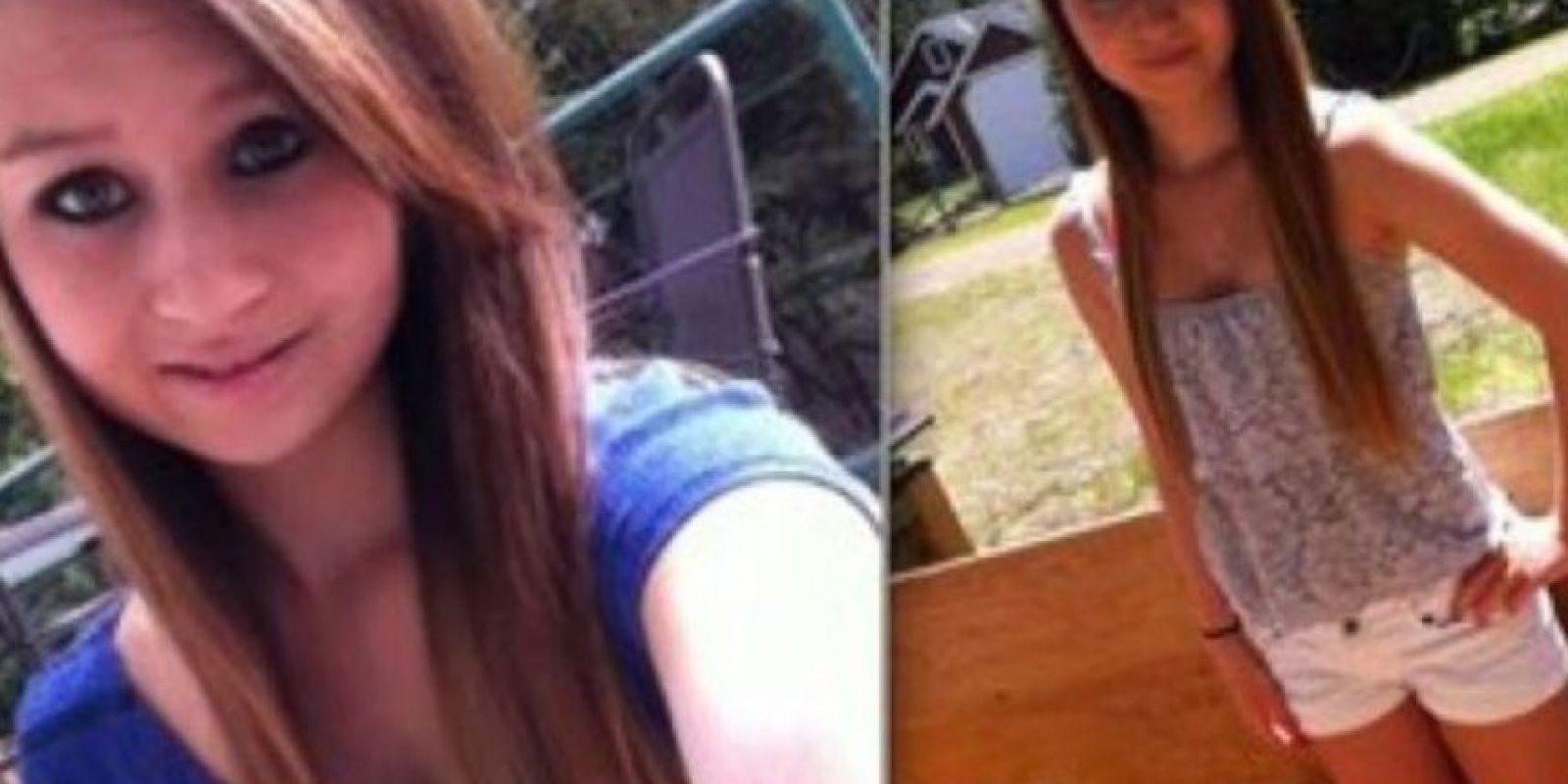 Amanda se suicidó en 2012 ahorcándose. Foto:vía Facebook/Suicide of Amanda Todd
