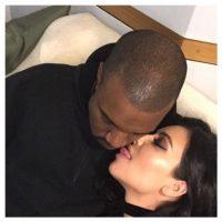 Hasta el día de su boda con Kanye West. Foto:Vía Instagram.com/kimkardashian