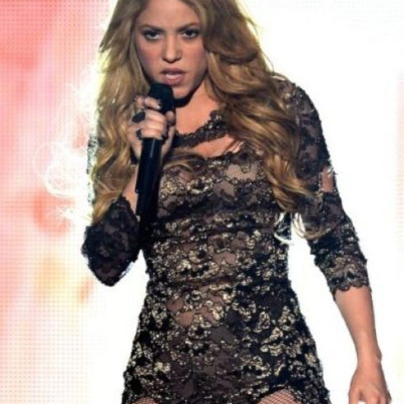 Shakira, cantante colombiana. Foto: Getty Images