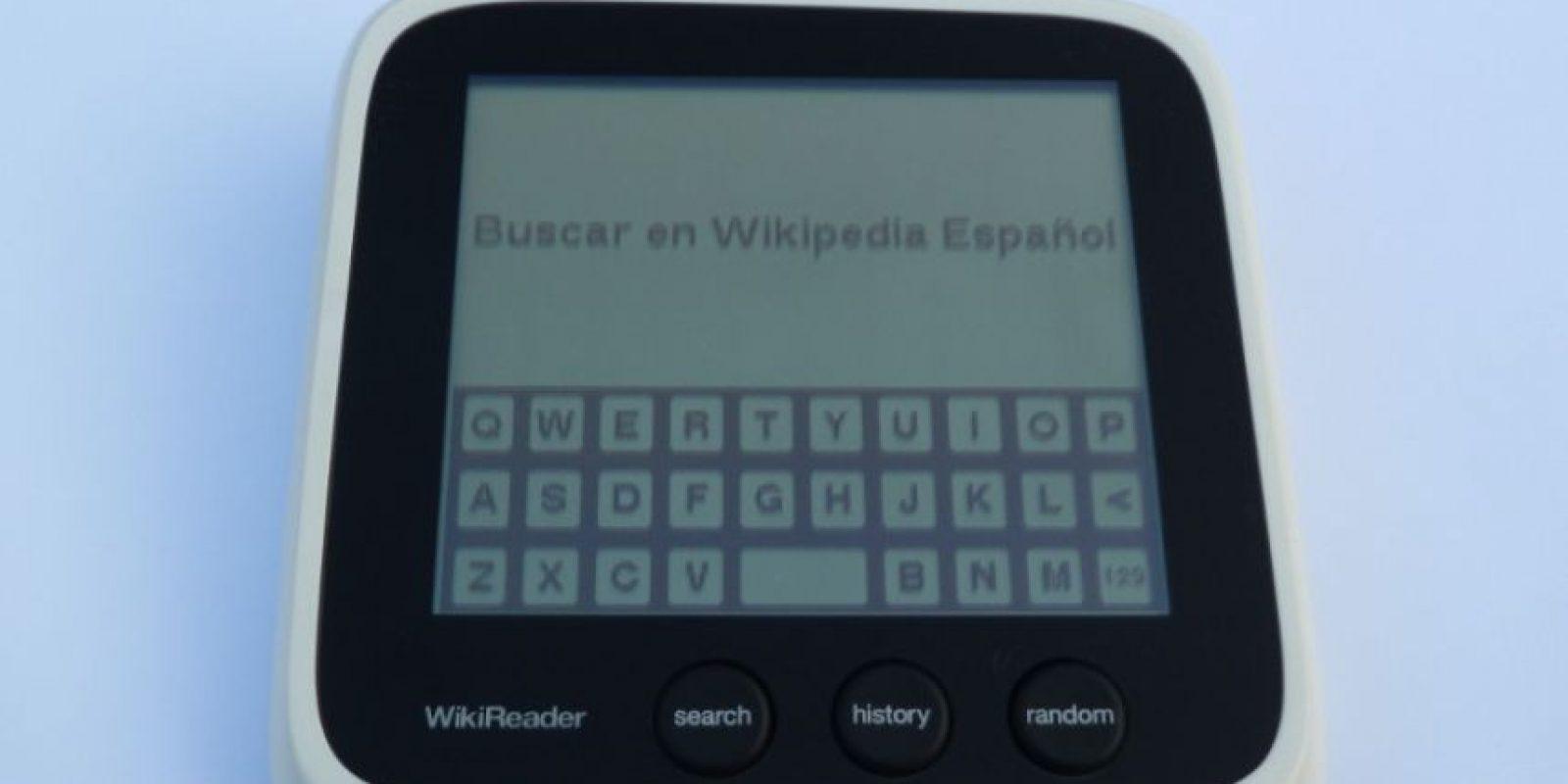 También se han registrado nuevos dispositivos como el WikiReader, un dispositivo móvil que permite al usuario consultar distintas fuentes de información sin necesidad de contar con conexión a Internet Foto:Wikimedia Commons