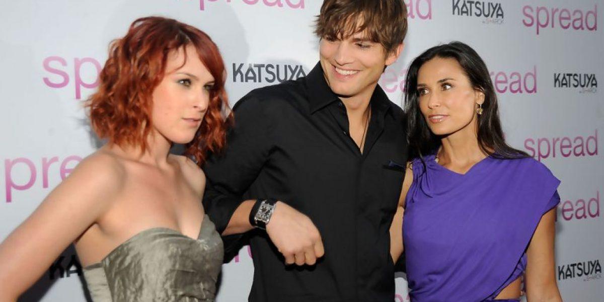 FOTOS. Hija de Demi Moore confiesa que Ashton Kutcher fue su amor platónico