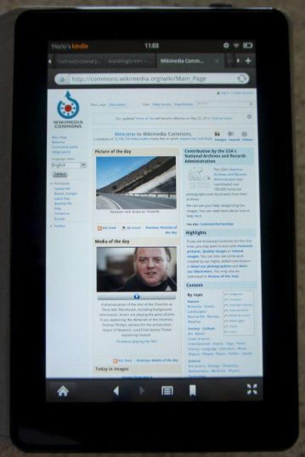La Kindle Fire se lanzó el 28 de septiembre de 2011. Fue la primer eReader en utilizar Android de Google Foto:Mariordo (Mario Roberto Duran Ortiz) Wikimedia Commons