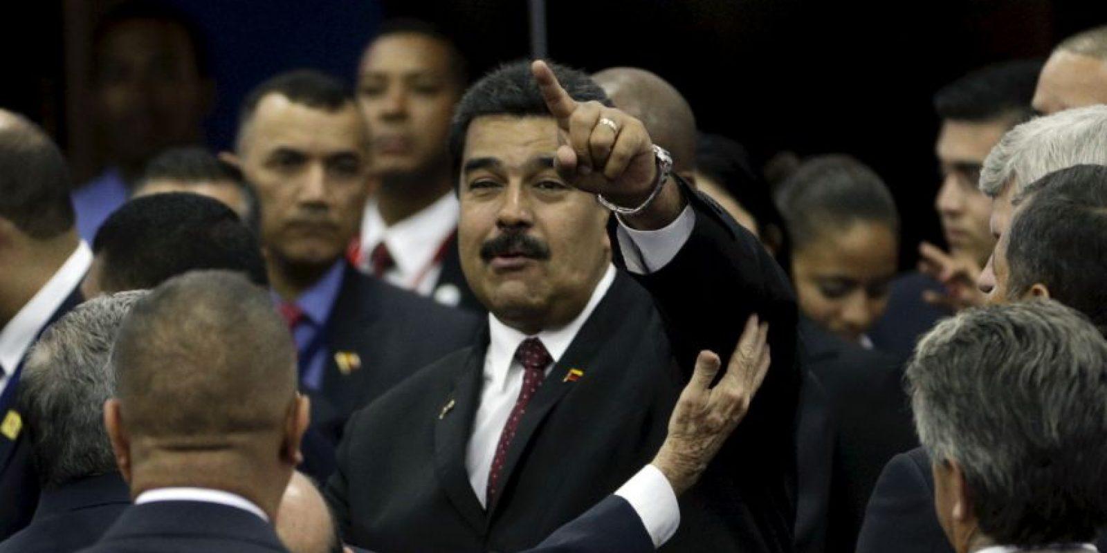 """La Asamblea Nacional venezolana respaldó la propuesta del presidente Nicolás Maduro de calificar al exmandatario del gobierno de España Felipe González persona """"non grata"""". Foto:AP"""