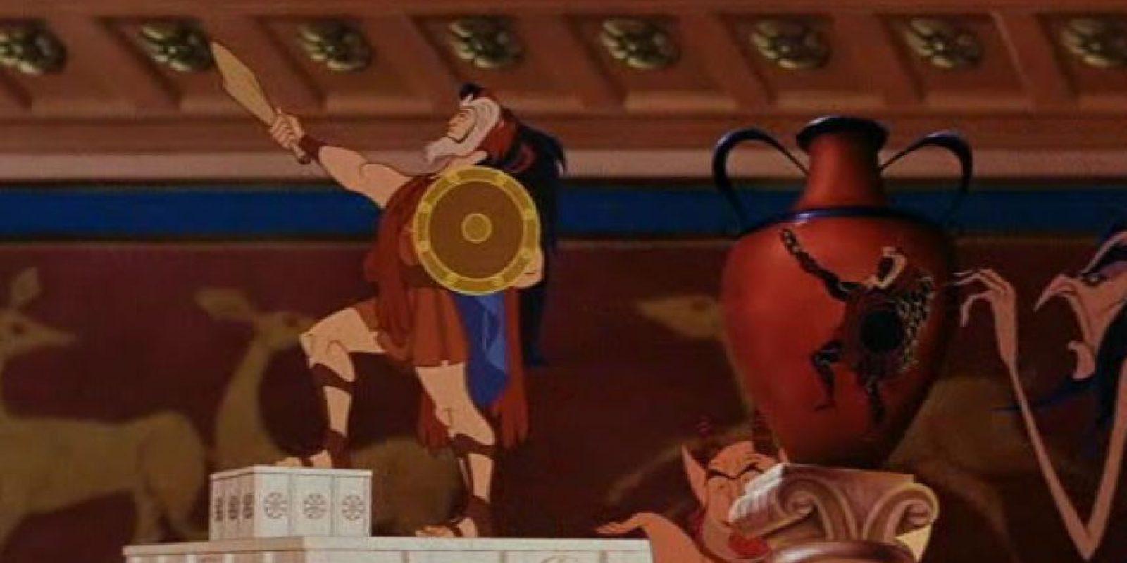 """7.- La piel de """"Scar"""" aparece en la película de """"Hercules"""" Foto:Vía Facebook.com/OhMyDisney"""
