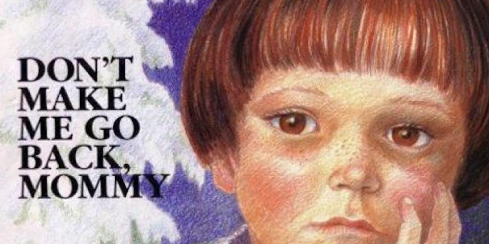 """""""No me hagas volver, mamá"""", es un libro infantil de un niño usado para… ¡rituales satánicos! Fue publicado en 1990 por Doris Sanford. Foto:vía Goodreads.com"""