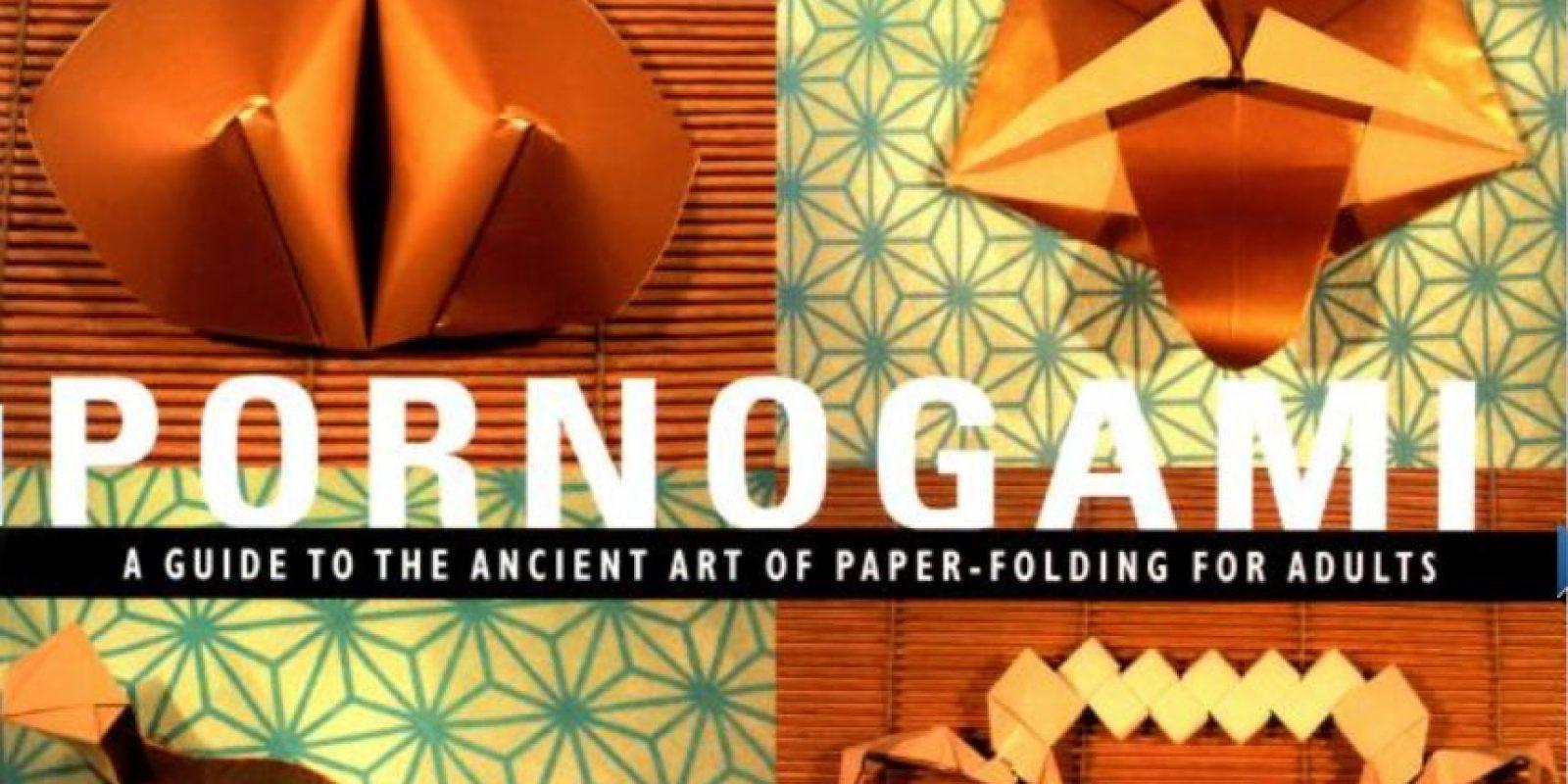 """""""Pornogami"""" es hacer origami, pero con figuras sexuales. Foto:vía GreenCandyPress"""