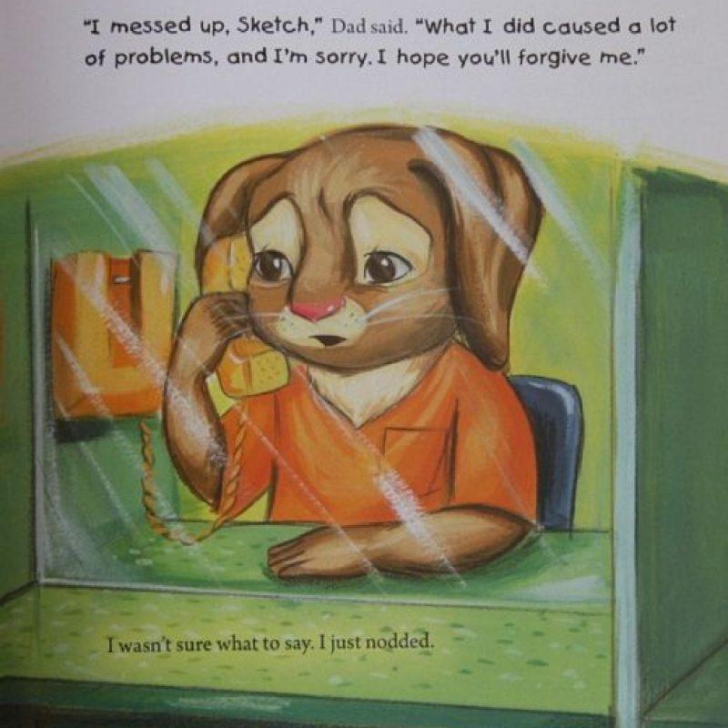Trata literalmente de un conejito llamado Sketch cuyo padre es un criminal. Foto:vía TDEPress