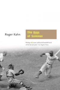 The Boys of Summer (Los chicos del verano) de Roger Kahn (1972) Foto: Google Books