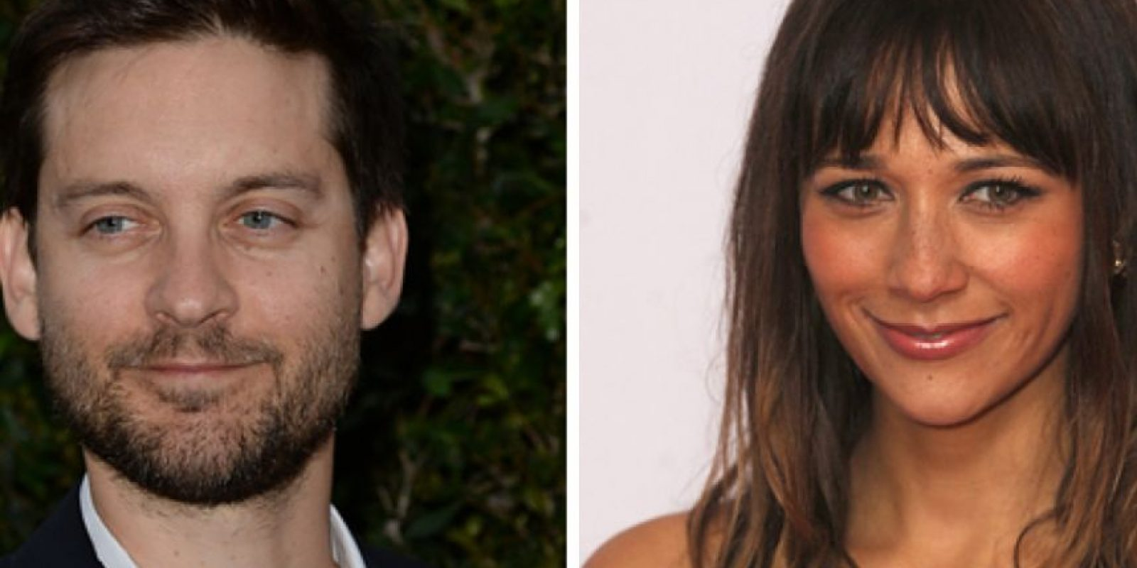 Tobey McGuire salió con Rashida Jones de 1997 a 1999. Foto: vía Getty Images