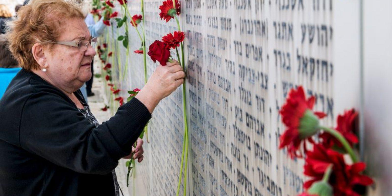 En este día se recuerda a los soldados que dieron su vida para el establecimiento y preservación del Estado de Israel Foto:AFP