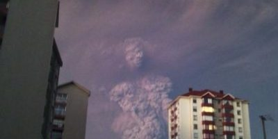 Mujer que tomó escalofriante imagen de volcán en Chile: