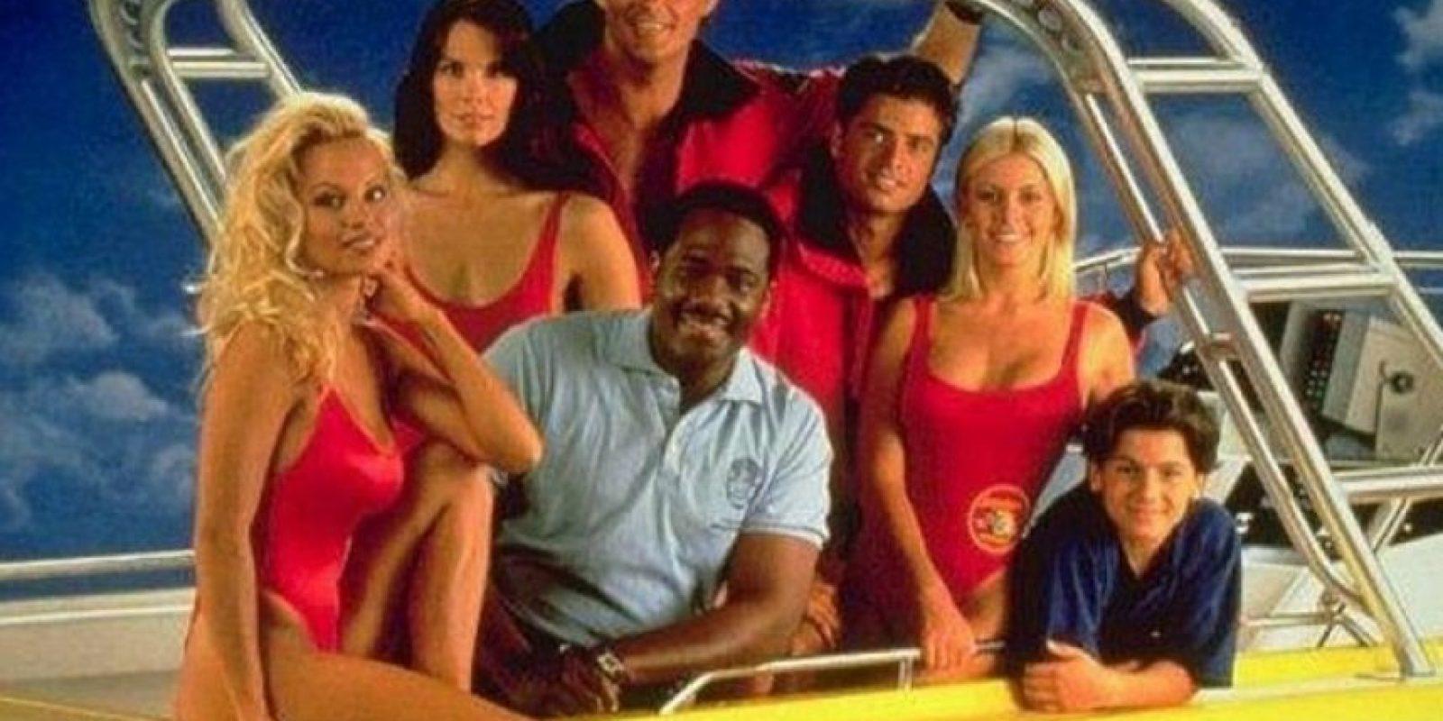 Apareció en la tercera y cuarta temporada de la serie de salvavidas Foto:NBC