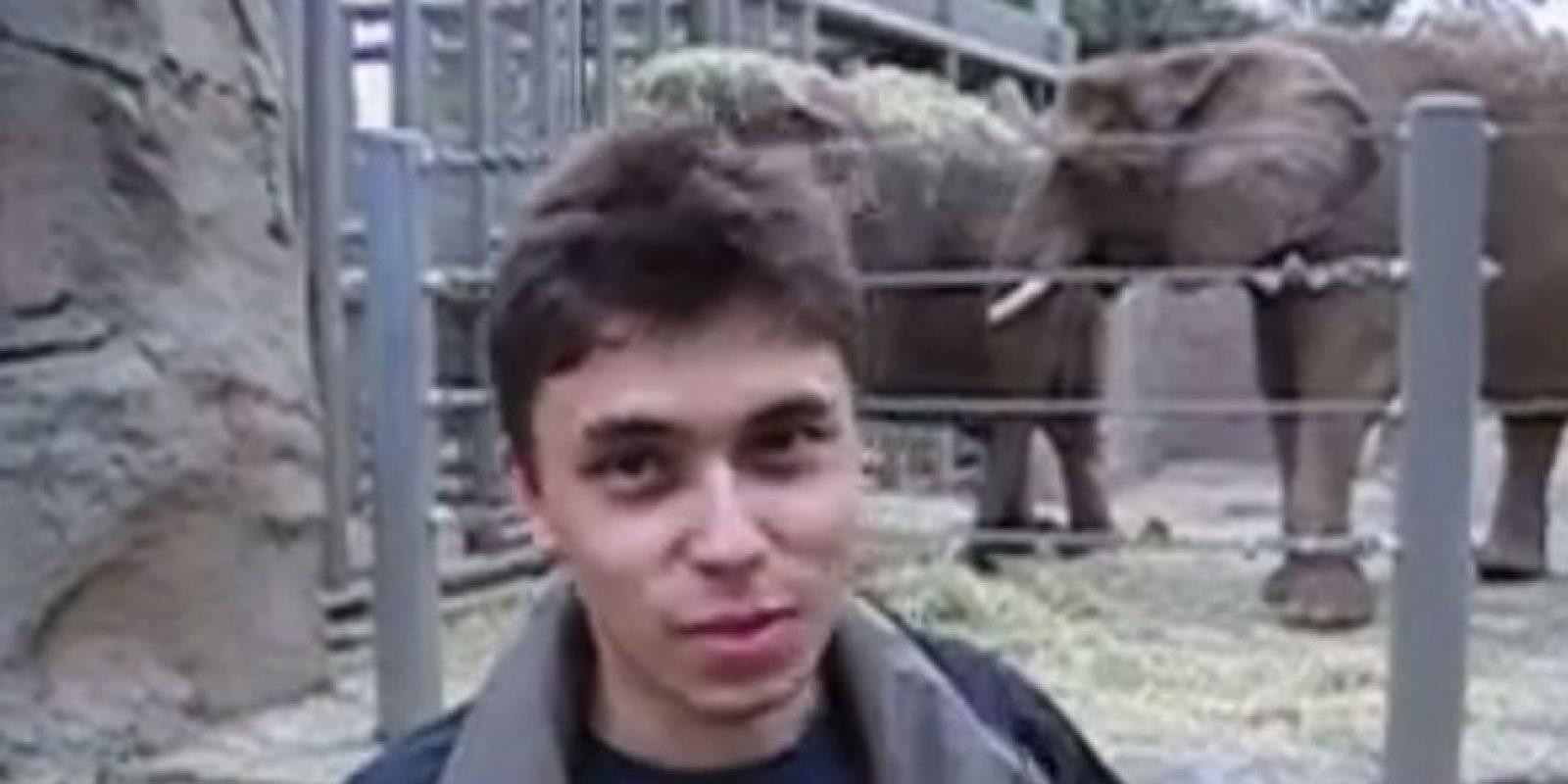 Jawed, cofundador de YouTube, publicó el primer video en la plataforma. Foto:Jawed Karim / YouTube
