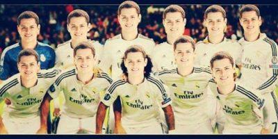 ¿El equipo ideal del Real Madrid? Foto:Vía facebook.com/soychichadios