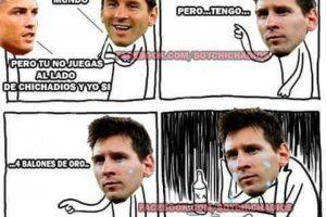 """Incluso, Cristiano lo """"presume"""". Foto:Vía facebook.com/soychichadios"""