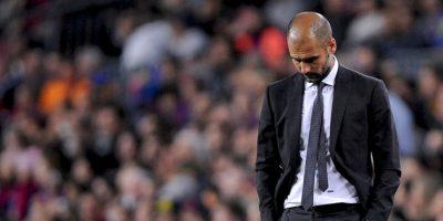 """Sobre la figura del Barça, Pep advirtió: """"Intentaremos hacer el mejor sistema para controlar a Leo (Messi)"""". Foto:Getty Images"""