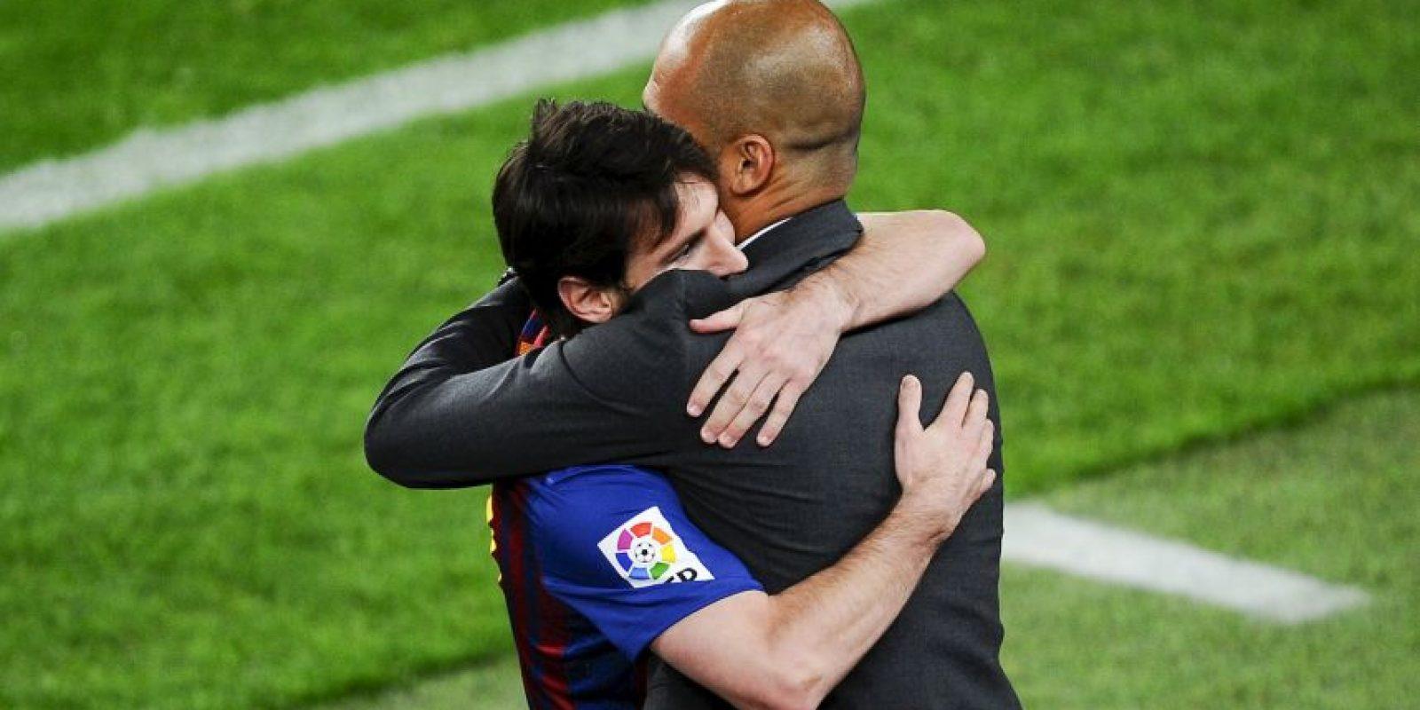 """""""Ellos son un gran equipo al igual que nosotros. Hemos de probar, analizar, aquello que podemos hacer en cada partido"""", apuntó Pep. Foto:Getty Images"""