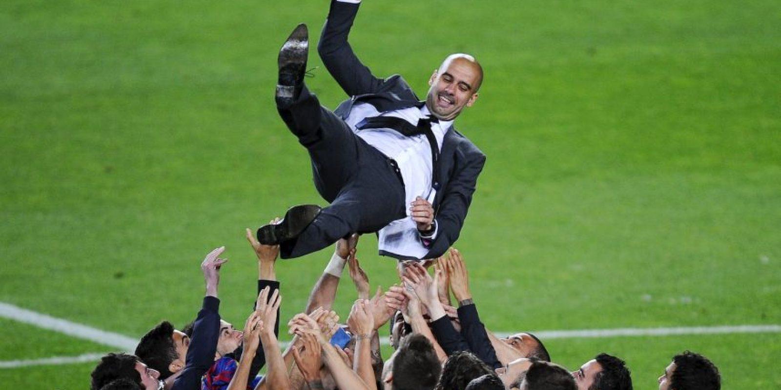 """""""Naturalmente es especial para muchos de nosotros, Thiago, el staff… Es Barcelona, es mi casa"""", admitió Guardiola al enterarse del resultado del sorteo. Foto:Getty Images"""