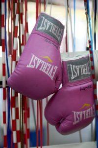 Fue campeona mundial del peso ligero por el Consejo Mundial de Boxeo. Foto:Getty Images