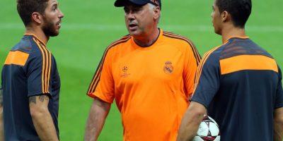 El crack portugués está a gusto con la dirección técnica de Ancelotti y con el liderazgo dentro de la cancha de Sergio Ramos. Foto:Getty Images