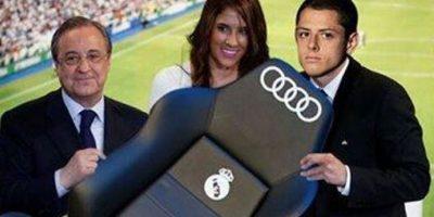 Y el día de la presentación del mexicano en el Real Madrid…