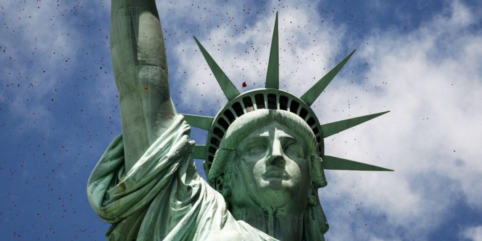 Se hubica en una isla cerca de Manhattan, Nueva York Foto:Getty Images