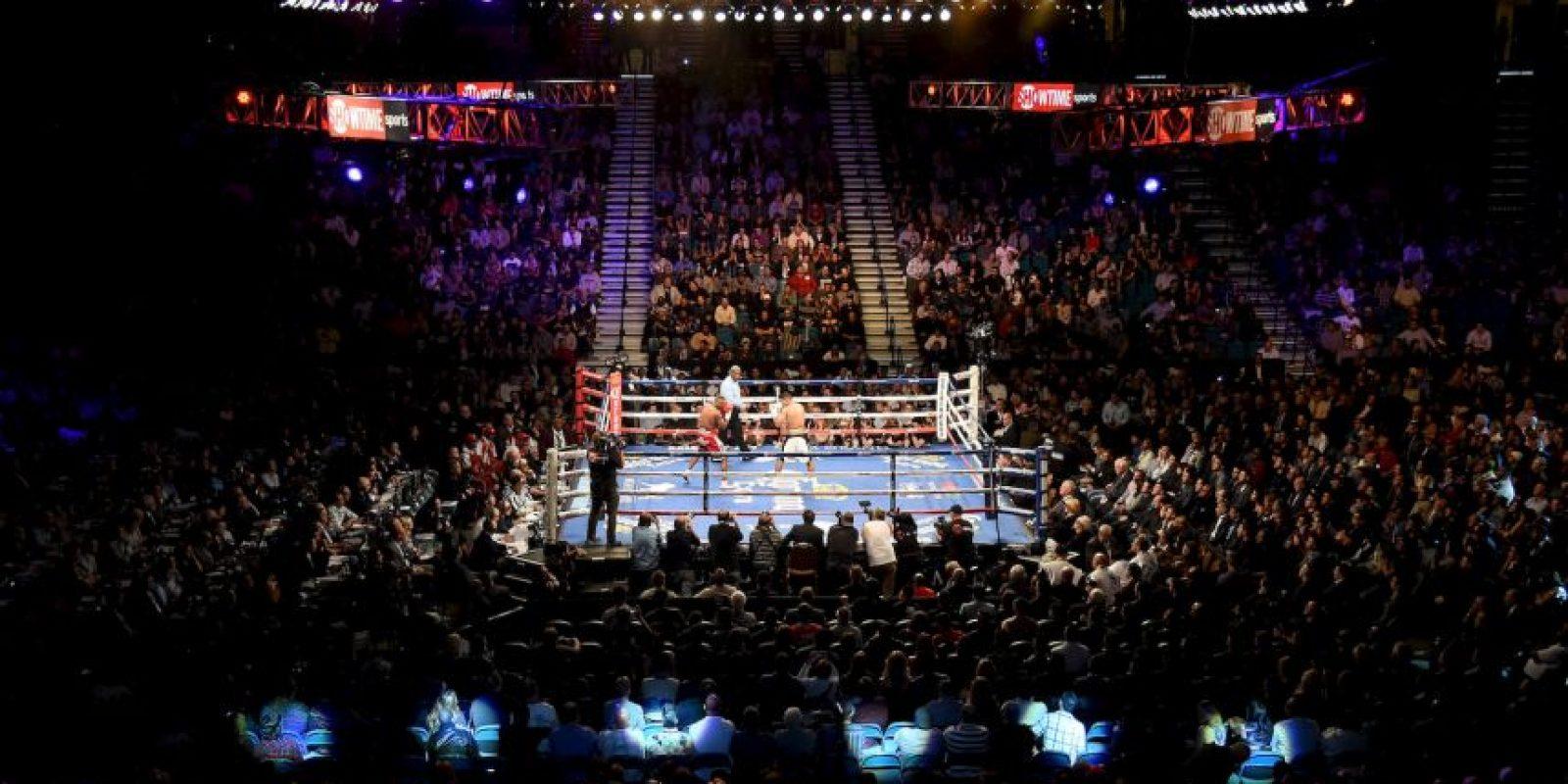 La pelea será en el MGM Gran Garden Arena de Las Vegas que tiene capacidad para 16 mil 800 espectadores. Foto:Getty Images