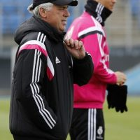 Carlo Ancelotti, DT italiano, llegó al Real Madrid en 2013 como reemplazo de Jose Mourinho. Foto:Getty Images