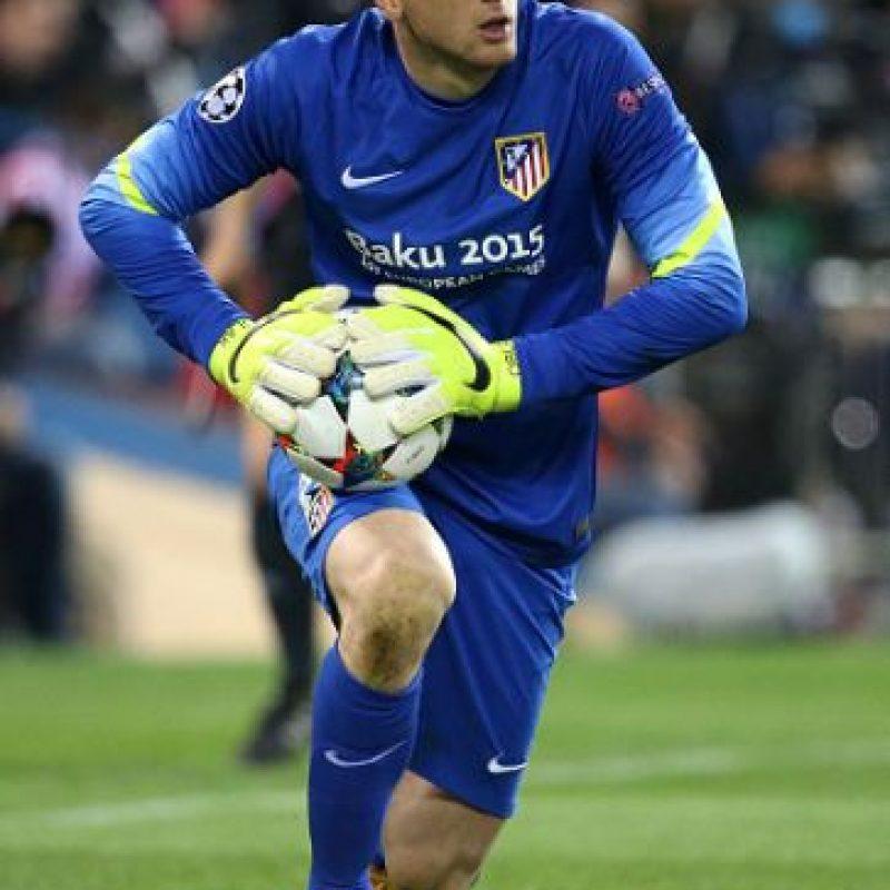 El portero esloveno fue el mejor de la serie entre Atlético y Real Madrid, sin embargo, su equipo fue eliminado. Foto:Getty Images