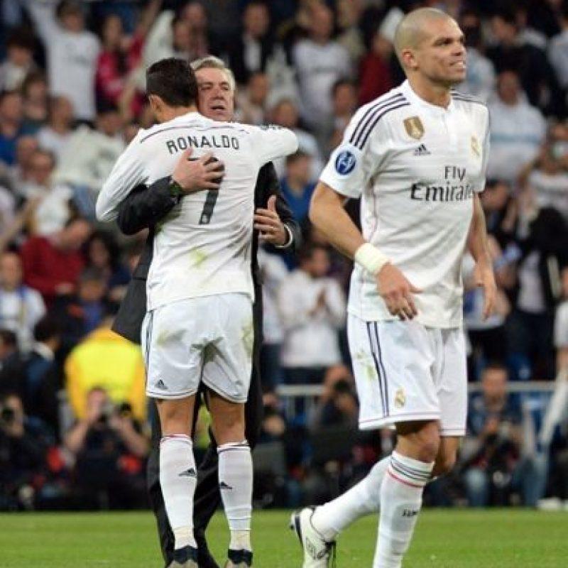 """""""Carletto"""" ya ganó cuatro títulos en sus primeras dos temporadas con el Real Madrid. Foto:Getty Images"""
