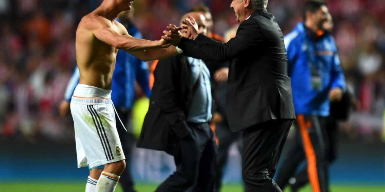 La Copa del Rey, Champions League, Supercopa de Europa y Mundial de Clubes en 2014. Foto:Getty Images