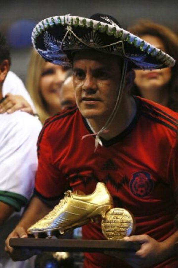 Junto con Ronaldinho, es el jugador con más goles en una Copa FIFA Confederaciones, con seis anotaciones. Foto:Getty Images