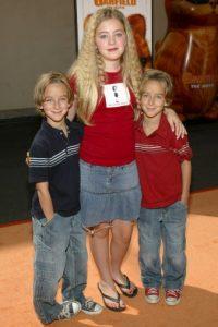 Sweeten y su hermano gemelo tenían tan solo tenían 16 meses cuando aparecieron en la serie por primera vez. Foto:Getty Images