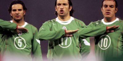 Con la Selección Mexicana ganó la Copa FIFA Confederaciones de 1999 y dos Copa Oro de la CONCACAF en 1996 y 1998. Foto:Getty Images