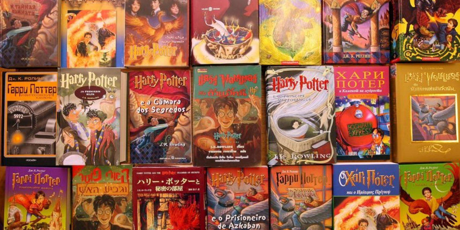 El primer tomo de lo escrito por J.K. Rowling se publicó en 1997 Foto:Getty Images