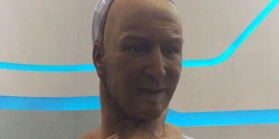 La gesticulación de este androide es sorprendente. Además, puede responder y entablar conversaciones sencillas Foto:GlobalSourcesDotCom