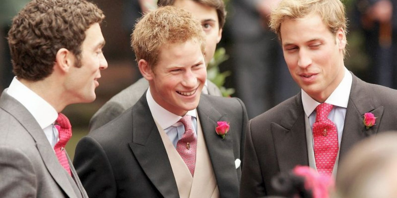 Príncipes Harry y William Foto: Getty Images