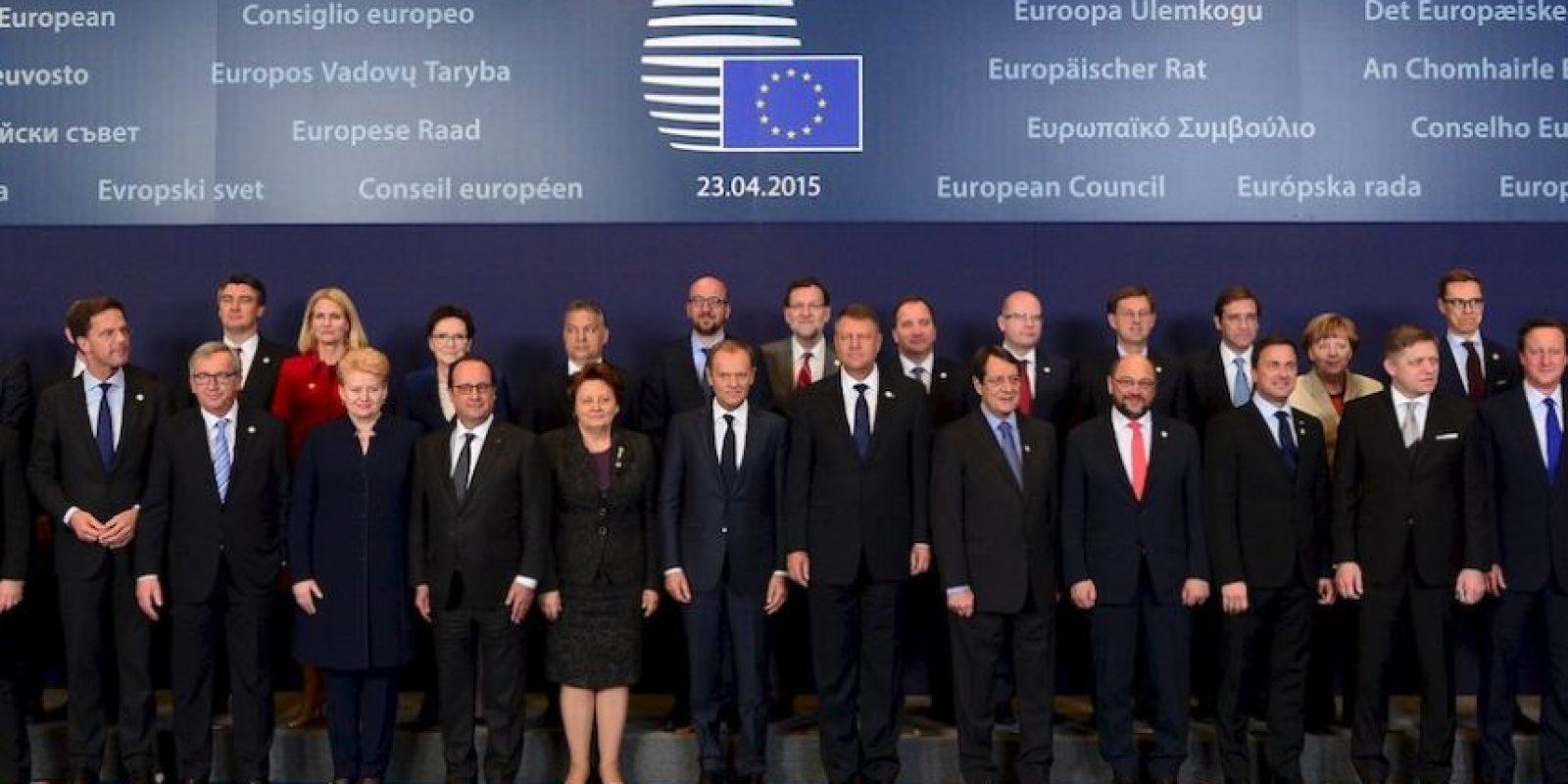 3. Establecer reuniones periódicas de EUROPOL, FRONTEX, EASO y EUROJUST y cooperación entre las misma Foto:AFP