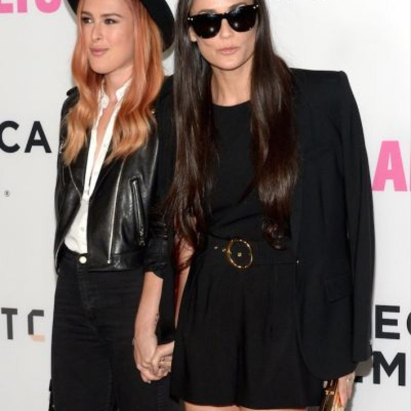 Y de la actriz Demi Moore Foto:Getty Images