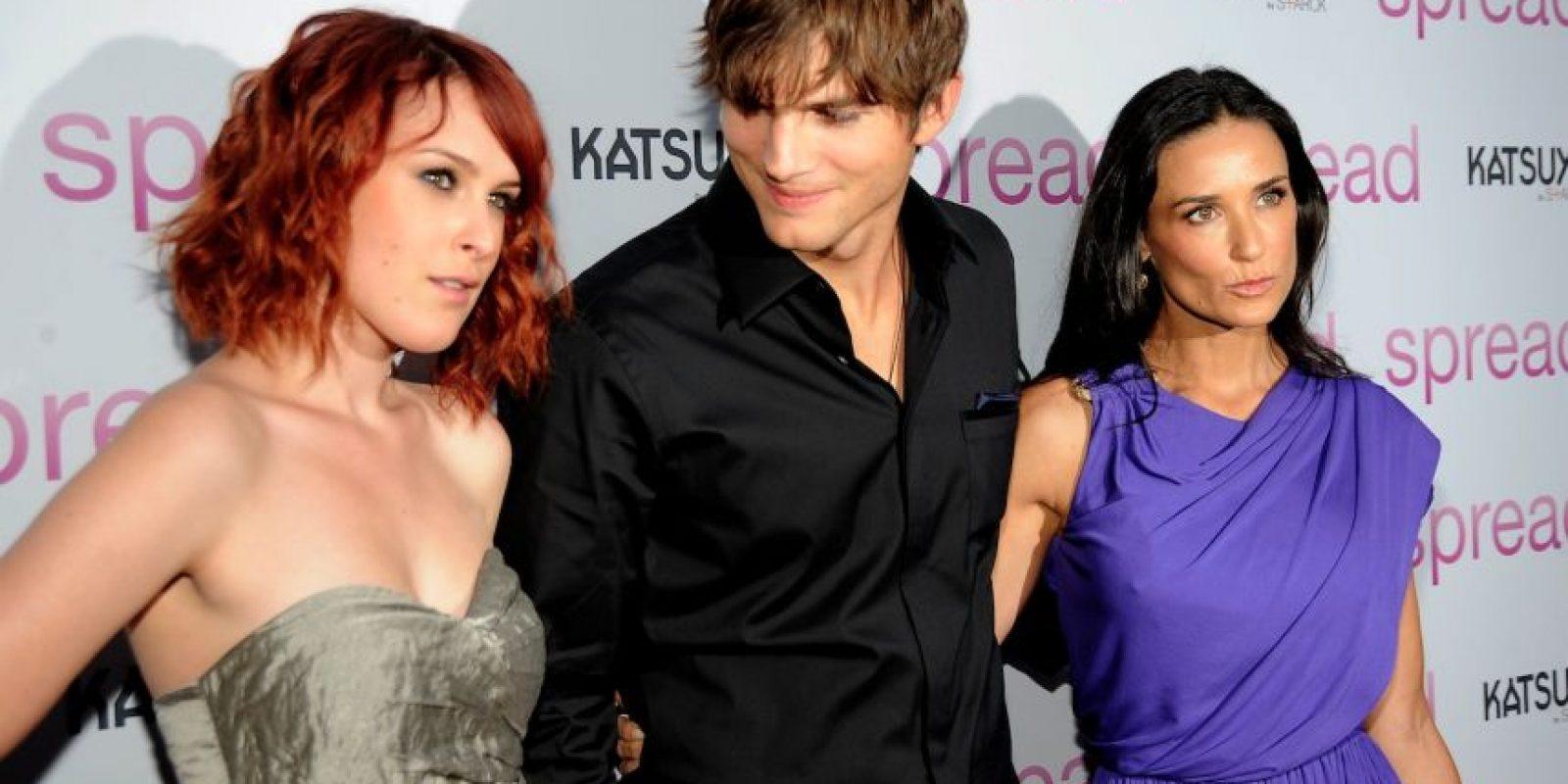 En 2005, Moore y Kucther se casaron. Foto:Getty Images