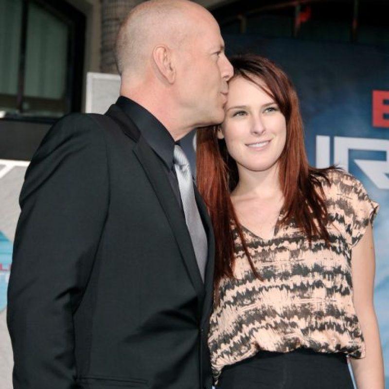 Es hija del actor Bruce Willis Foto:Getty Images