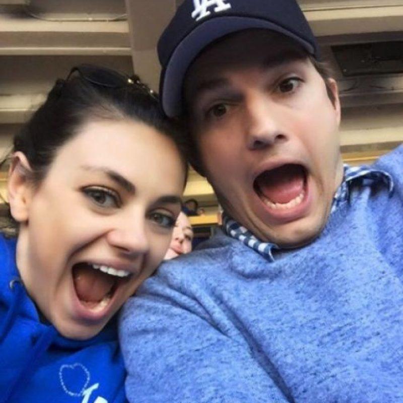 Ahora son padres de la pequeña Wyatt Isabelle Kutcher. Foto:Vía Facebook.com/ashtonkutcher